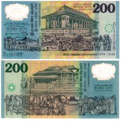 (114b) Sri Lanka. 1998. 200 Rupees (SC)