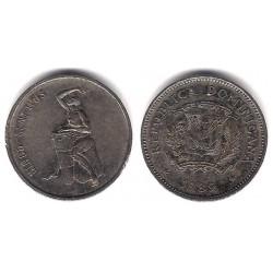 (69) República Dominicana. 1989. 5 Centavos (MBC)