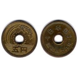 (Y72a) Japón. 1974(49). 5 Yen (MBC)