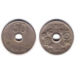 (Y81) Japón. 1967(42). 50 Yen (MBC)