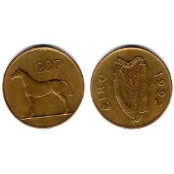 (25) Irlanda. 1992. 20 Pence (BC)