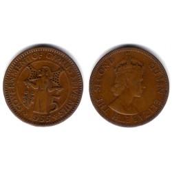 (34) Chipre. 1955. 5 Mils (MBC)