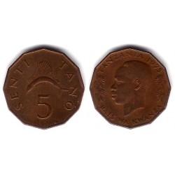 (1) Tanzania. 1966. 5 Senti (MBC)