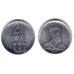 (15) San Marino. 1972. 2 Lira (SC)