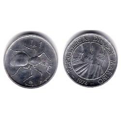 (30) San Marino. 1974. 1 Lira (SC)
