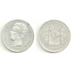 1874*(18-74) 5 Pesetas (BC)