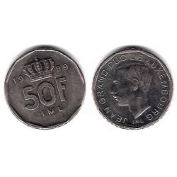 (62) Luxemburgo. 1989. 50 Francs (MBC)