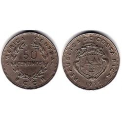 (189.2) Costa Rica. 1975. 50 Centimos (MBC)