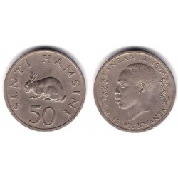 (3) Tanzania. 1966. 50 Senti (MBC)