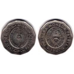 (61) Argentina. 1967. 25 Pesos (MBC)