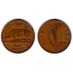 (10) Irlanda. 1942. Half Penny (MBC)