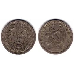 (176.1) Chile. 1933. 1 Peso (EBC-)