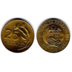 (246.2) Perú. 1972. 25 Centavos (SC)