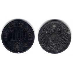 (26) Imperio Alemán. 1920. 10 Pfennig (EBC)