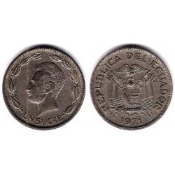 (78b) Ecuador. 1971. 1 Sucre (MBC)