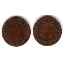 (10) Imperio Alemán. 1900(D). 1 Pfennig (BC+)