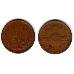 (Y73a) Japón. 1973(48). 10 Yen (BC+)