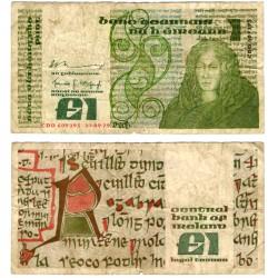 (70b) Irlanda. 1979. 1 Pound (RC+) Peq. roturas margenes