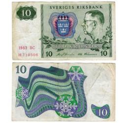 (52d) Suecia. 1983. 10 Kronor (BC)