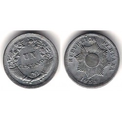 (227) Perú. 1958. 1 Centavo (MBC)