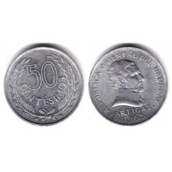 (45) Uruguay. 1965. 50 Centesimos (MBC+)