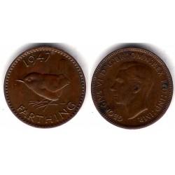 (843) Gran Bretaña. 1947. Farthing (EBC+)