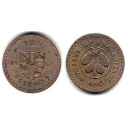 (16) Ghana. 1967. 10 Pesewas (MBC)