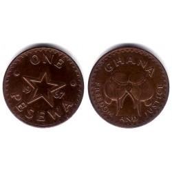 (13) Ghana. 1967. 1 Pesewa (MBC)