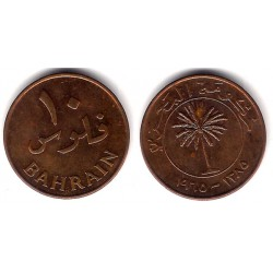 (3) Bahrain. 1965. 10 Fils (MBC+)