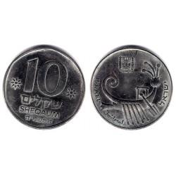(119) Israel. 1982. 10 Sheqalim (EBC)