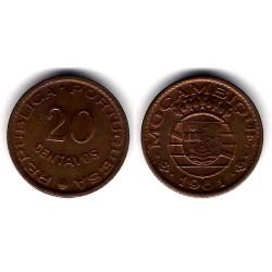 (85) Mozambique. 1961. 20 Centavos (MBC)