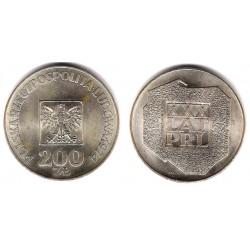 (Y72) Polonia. 1974. 200 Zlotych (EBC) (Plata)