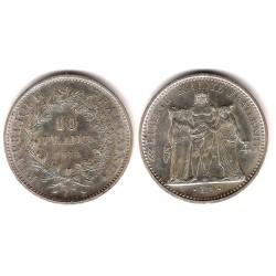 (932) Francia. 1972. 10 Francs (SC) (Plata)