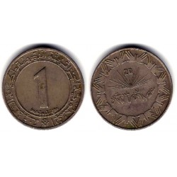 (112) Algeria. 1983. 1 Dinar (BC+)