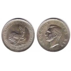 (40.2) Sudáfrica. 1951. 5 Shillings (EBC) (Plata)