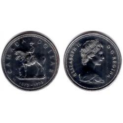 (83) Canadá. 1973. 1 Dollar (SC) (Plata)