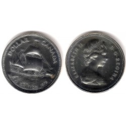 (124) Canadá. 1979. 1 Dollar (Proof) (Plata)