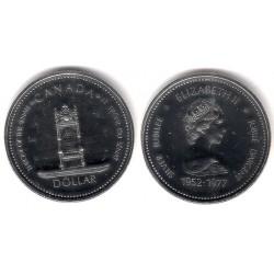 (118) Canadá. 1977. 1 Dollar (Proof) (Plata)