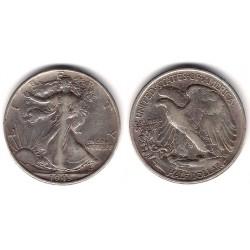 (142) Estados Unidos de América. 1943. Half Dollar (MBC) (Plata)