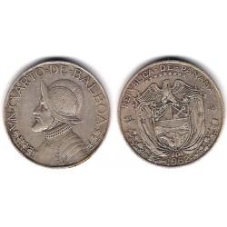 (11.2) Panamá. 1962. ¼ Balboa (MBC+) (Plata)