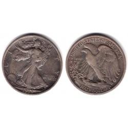 (142) Estados Unidos de América. 1935. Half Dollar (MBC) (Plata)