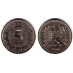 (140.1) Alemania. 1975(F). 5 Mark (MBC)