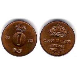 (820) Suecia. 1968. 1 Ore (EBC)