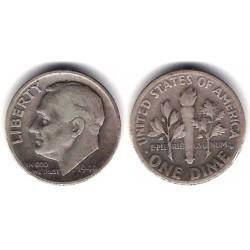 (195) Estados Unidos de América. 1946. 1 Dime (MBC-) (Plata)