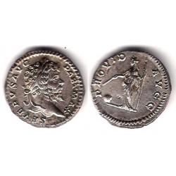 Septimio Severo. 193-211 d.C. Denario (MBC+) (Plata)
