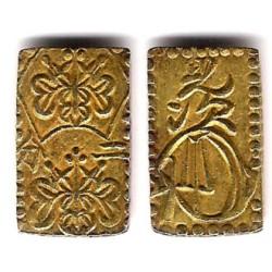 (C21d) Japón. 1868-9. 2 Bu (SC) (Oro/Plata)