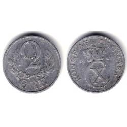 (833) Dinamarca. 1941. 2 Ore (BC)