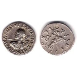 Antigua Grecia (Indogrecia). 160 - 145 a.C. Dracma (EBC) (Plata)