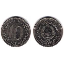 (89) Yugoslavia. 1985. 10 Dinara (MBC)