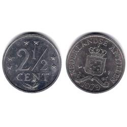 (9a) Antillas Neerlandesas. 1979. 2½ Cents (MBC+)
